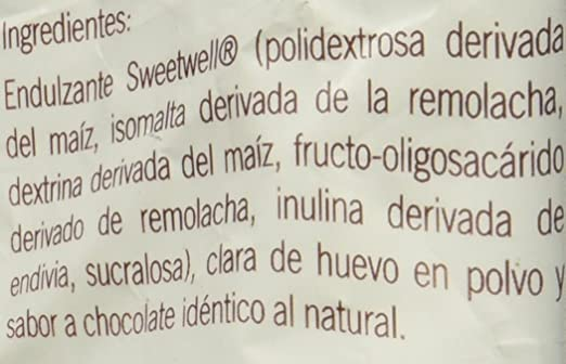 Sweetwell Sugar Free Meringue Cookies, Chocolate - 300 units (10 bags of 30 units).: Amazon.com: Grocery & Gourmet Food