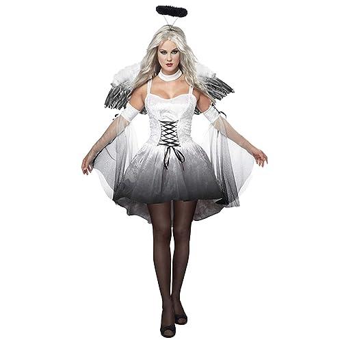 Vococal Costume da Angelo del Diavolo 70102aeb17bf