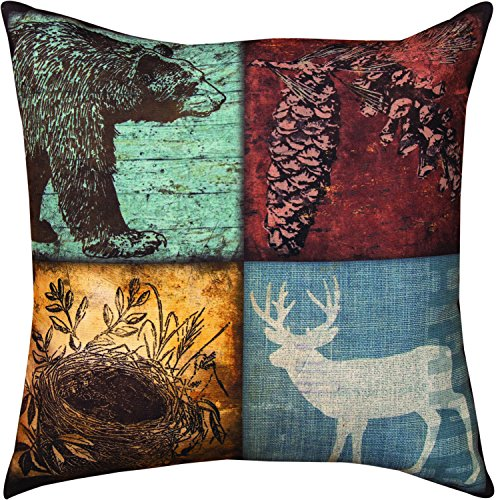 MWW Manual Indoor/Outdoor Throw Pillow,