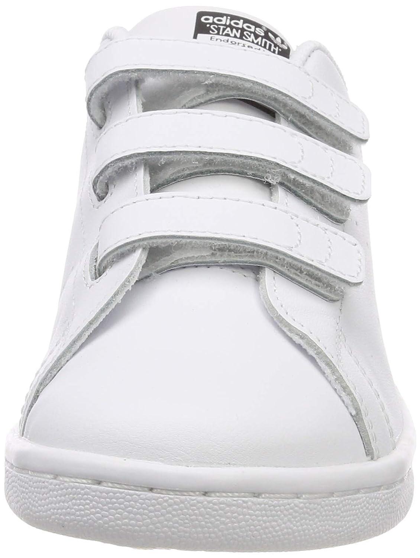 f0e77d5d695476 adidas Unisex Kids' Stan Smith Cf C Gymnastics Shoes: Amazon.co.uk: Shoes &  Bags