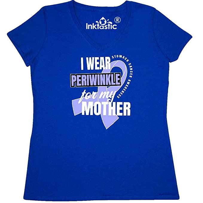 inktastic I Wear Periwinkle for My Mother Stomach Cancer Awareness Baby T-Shirt