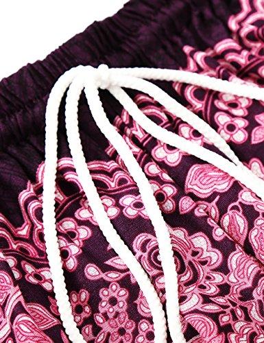 Violett Pantaloni BAISHENGGT Pantaloni BAISHENGGT Donna Donna harem harem 6qp8vv