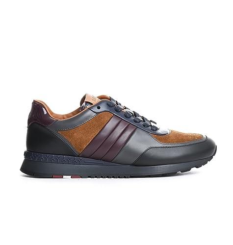 ef51598f9e1cc7 Bally Sneakers Uomo 3296209721 Pelle Arancione: Amazon.it: Scarpe e borse