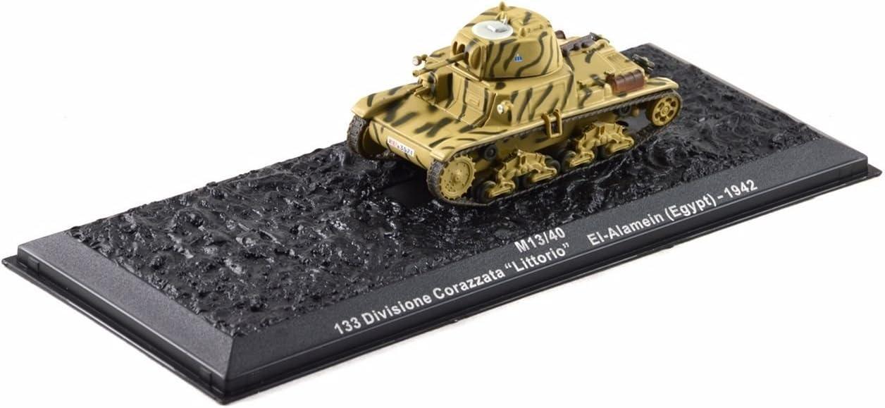Diecast Atlas DeAgostini Italien WW2 M13//40 Tank Divisione Corazzata 1942 1:72
