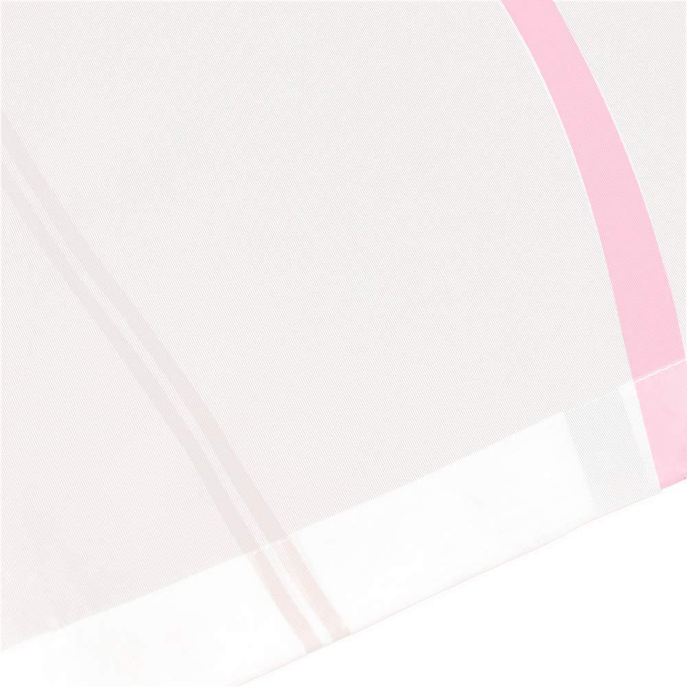 Souarts 1PC Rideaux Brise-Bise Rideau de Cuisine Bistro Rideau Rideau Voile pour D/écoration Chambre Salon 60x140cm