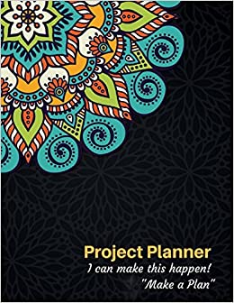 amazon project planner organizer journal notebook book i can