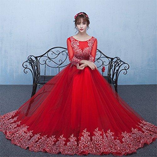 Damen Rot Kleid Drasawee Drasawee Empire Damen Empire Bcq8ftqw