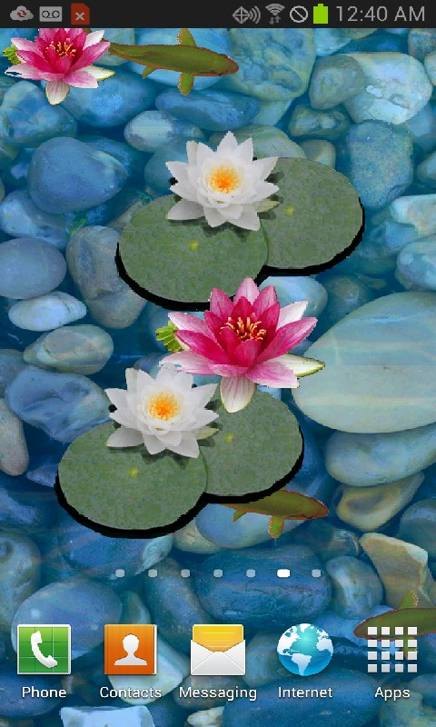 3d koi pond live wallpaper appstore for android - 3d koi pond live wallpaper iphone ...