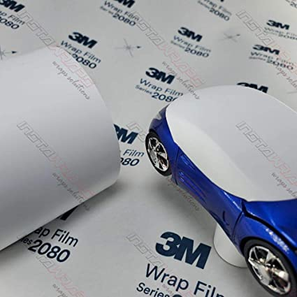 DM12 Sample 2.5in x 4in Vinyl CAR WRAP Film 3M 1080 Dead Matte Black