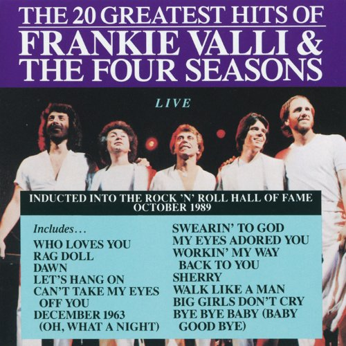 Frankie Valli & The Four Seasons: 20 Greatest Hits (Four Seasons Greatest Hits Cd)
