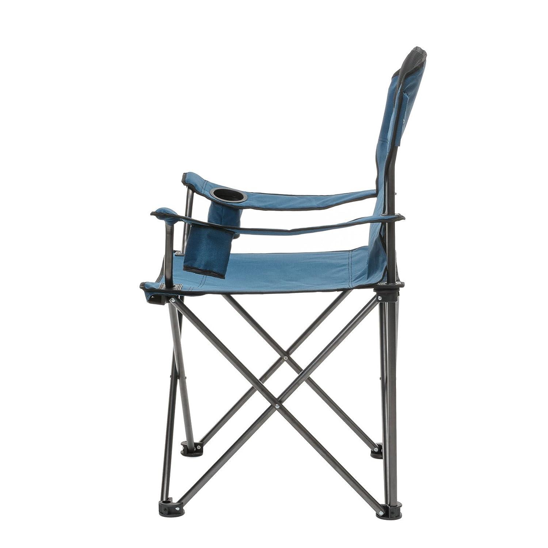 Azul Qeedo Johnny Silla para Acampada XL Capacidad de Carga: 150 kg