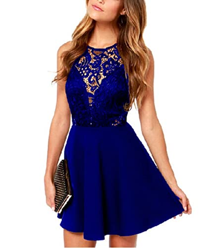 ThaliaDress Short Lace Low Back Sexy Formal Evening Cocktail Club Dress T287LF