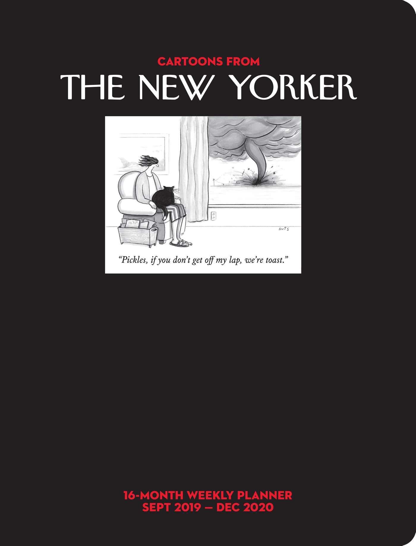 New Yorker December 5 2020 Desk Calendar Cartoons from The New Yorker 2019 2020 16 Month Weekly Planner