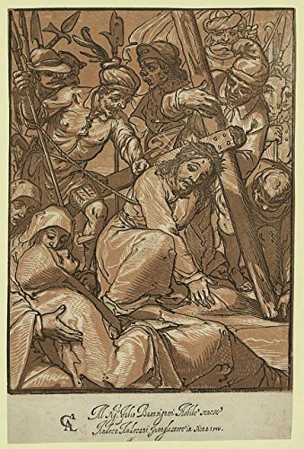 HistoricalFindings Photo: Christ Carrying The Cross,Jesus Christ,Crucifixion,Stations of Cross,Religion