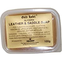 Gold Label Glycerin Leather & Saddle Soap (UK Size: 100g) (May Vary)