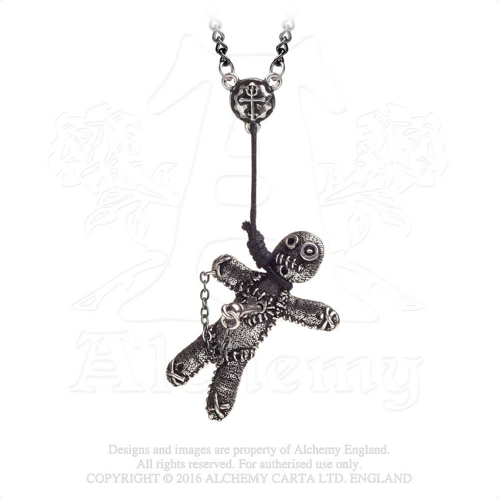 Alchemy Gothic Voodoo Doll Single Earring wpnrm