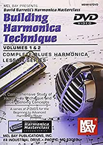 Mel Bay Building Harmonica Technique Volume 1 & 2 (DVD)