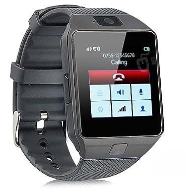 Inteligente Reloj Teléfono con gsm Fitness Reloj Bluetooth Compatible con Samsung LG Sony HTC Apple Smartphone