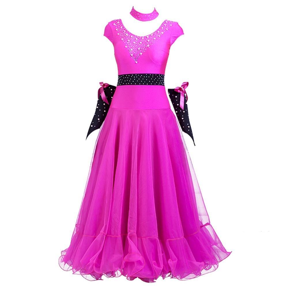 Modernes Tanzkleid Für Frauen Ärmellos Perle Ballsaal-Tanz-Outfit Walzer Wettbewerb Wettbewerb Wettbewerb Kleid B07BSDTWYV Bekleidung Wir haben von unseren Kunden Lob erhalten. 8e82d6