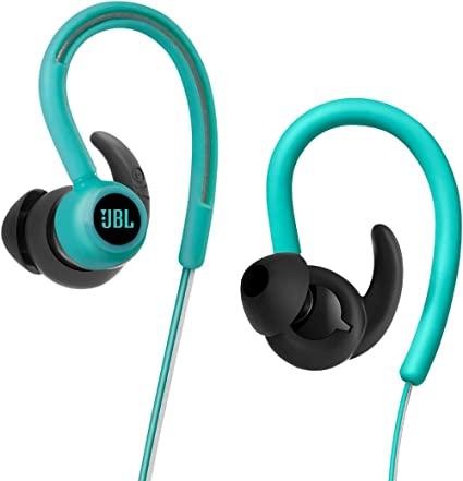 6f5f609df7e Amazon.com: JBL Reflect Contour Bluetooth Wireless Sports Headphones Teal:  Home Audio & Theater