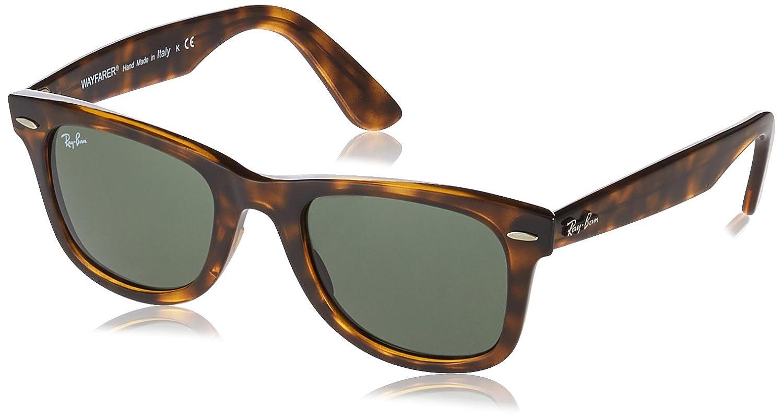 Ray-Ban Wayfarer Sunglasses in Black Green Polarised RB4340 601 58 50   Amazon.co.uk  Clothing 44a4944e54