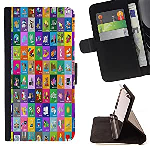 King Case - FOR Apple Iphone 6 PLUS 5.5 - there is no secure direction - Prima caja de la PU billetera de cuero con ranuras para tarjetas, efectivo Compartimiento desmontable y correa para la mu?eca