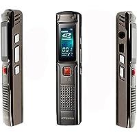 HYUNDAI现代 HYM-3688 录音笔(4G 超长录音 内置锂电 全金属外壳 小巧精美 一键录音)