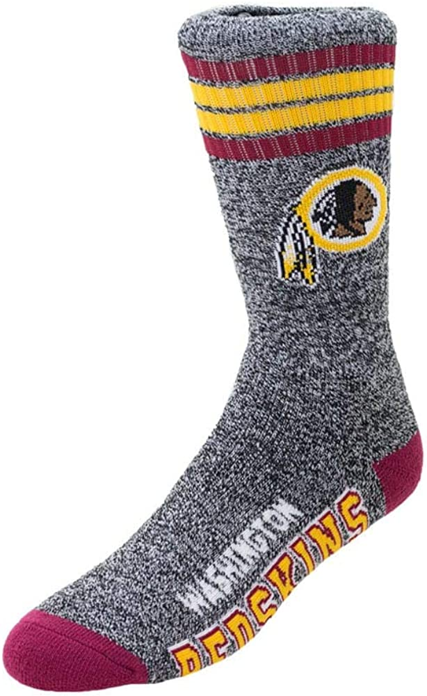 FBF 504 Marbled Socks Redskins