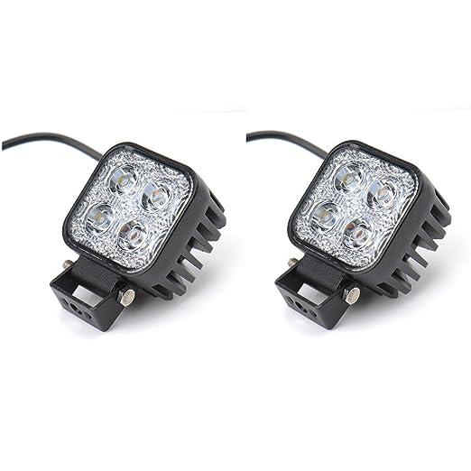 2 opinioni per Himanjie®- Lampada a LED 12W, fanale posteriore per veicoli, faro da lavoro,