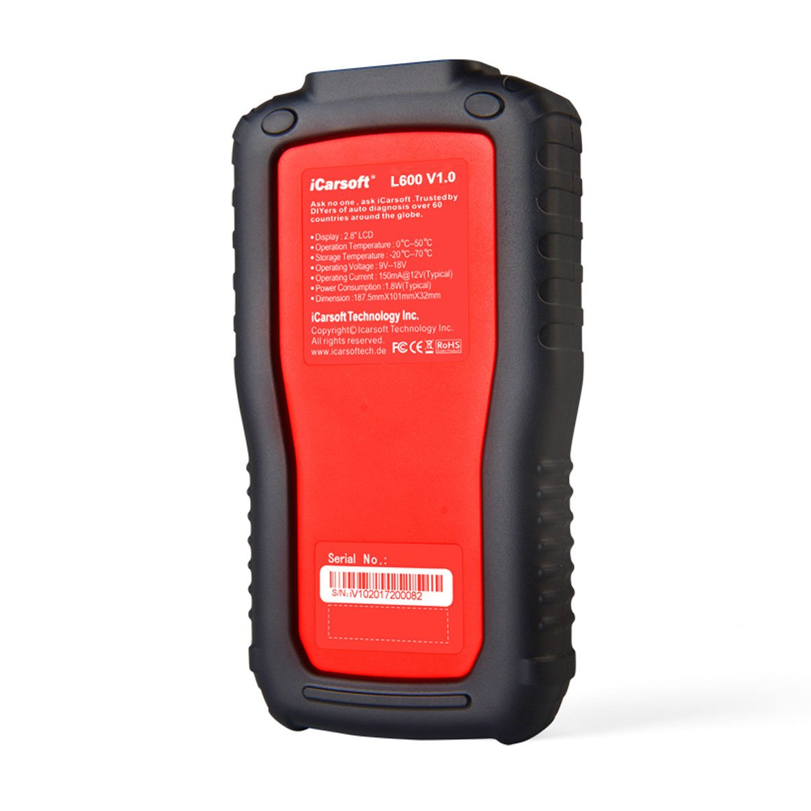 iCarsoft Auto Diagnostic Scanner L600 V1.0 for Landrover and Jaguar with ABS Scan,Oil Reset etc by iCarsoft (Image #4)