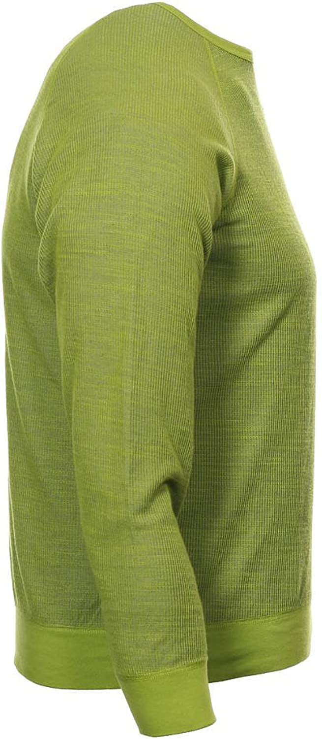 Size 2XLarge Splendid Mills Green Two Tone Crew Neck Sweater