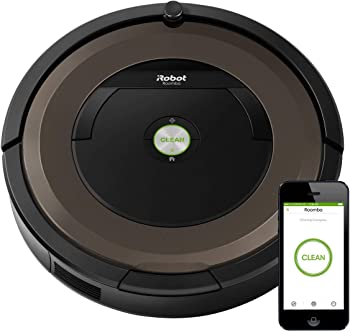 iRobot 890 Alexa Connected Roomba for Hardwood Floors