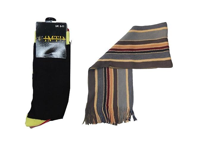 IMTD para hombre bufanda y calcetines Set de regalo Fathers día San ...