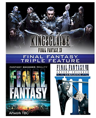 Final Fantasy Triple [Kingsglaive: Final Fantasy XV, Final Fantasy: The Spirits Within, Final Fantasy VII: Advent Children] [Blu-ray]