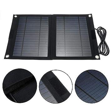 Banco De Energía Solar Portátil, Cargador Solar, Cargador De ...