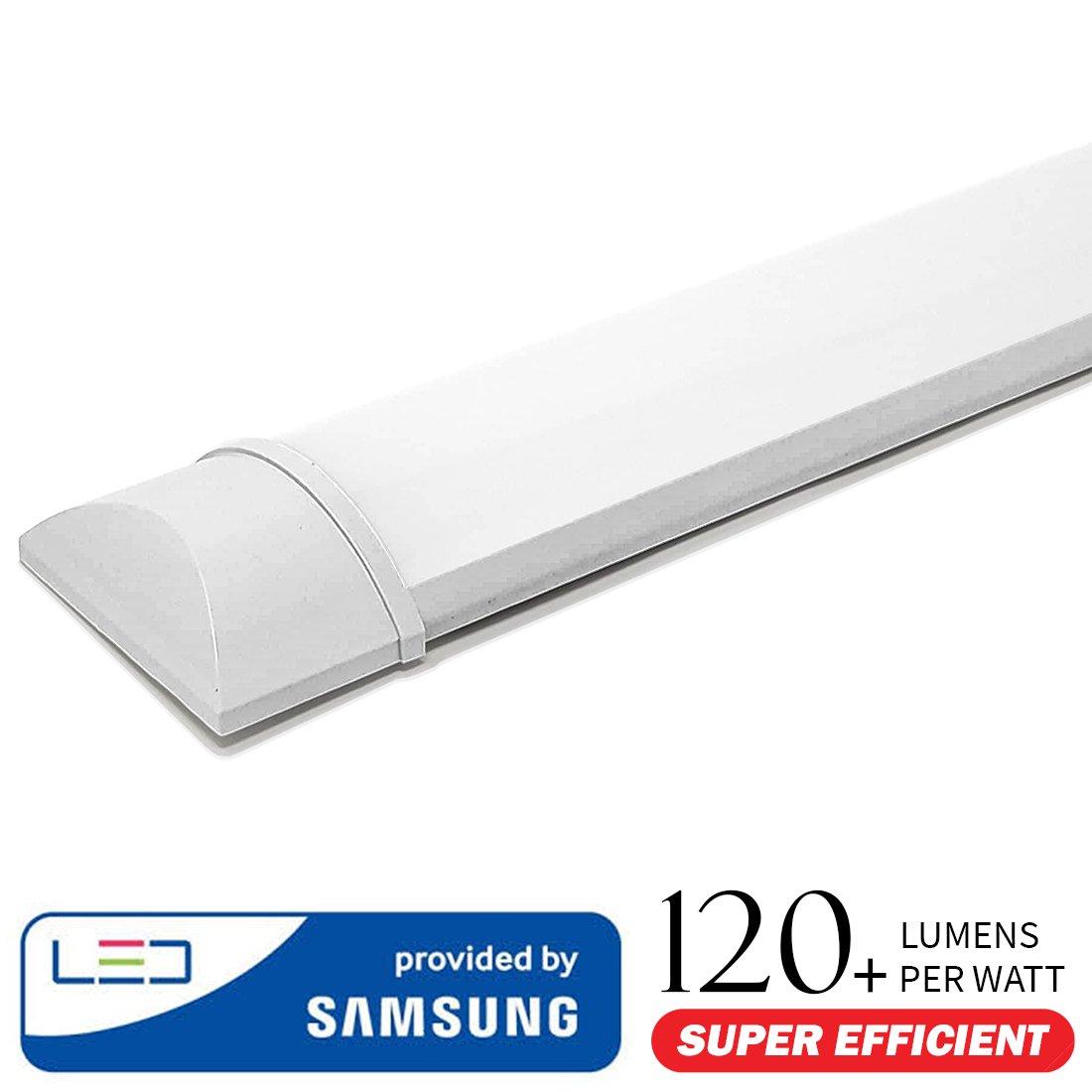 50W - 150 cm - V-TAC - LED Deckenleuchte LED Röhren LED Lineare Lampe - Prismenglas–weiß6400K 6253
