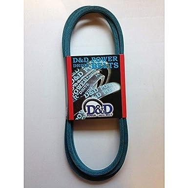 Rubber D/&D PowerDrive 985PK6 BELA Machine Replacement Belt