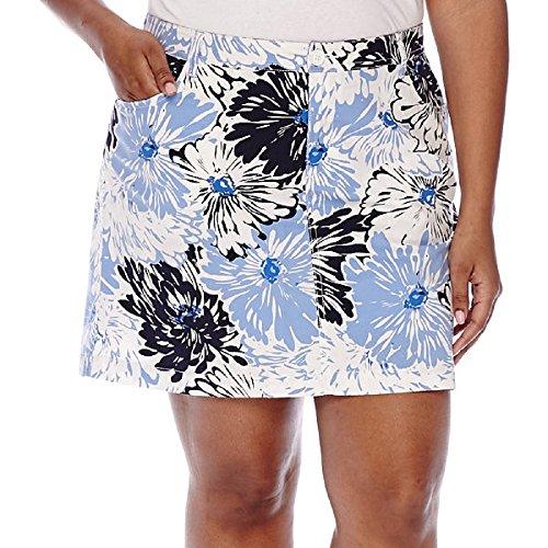 st-johns-bay-print-bachelor-button-floral-skort-size-22w