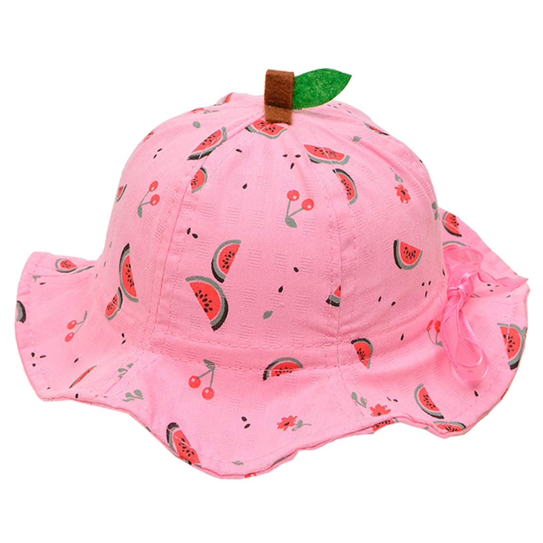 Cotton Breathable Adjustable Baby Girls Sun-Hat Watermelon
