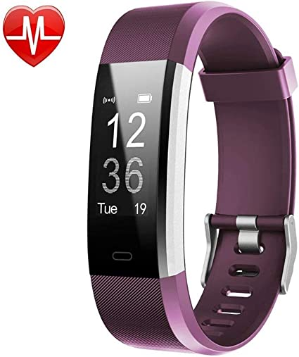Willful Fitness Tracker, Fitness Watch Activity Tracker with Heart Rate Monitor Step Counter Sleep Monitor 14 Sports Modes IP67 Waterproof Slim Smart ...