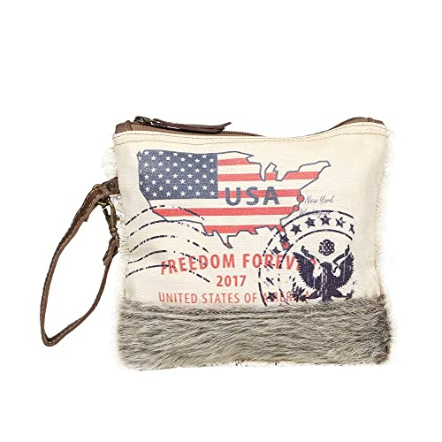 Amazon.com: Myra Bag New York Verge - Bolsa de piel de vaca ...