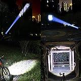 LED Tactical Flashlight 2 Pack, WdtPro XML-T6 1000 Lumens Tac Light - 5 Modes, Waterproof Flashlight with Zoom Function - Best Camping, Outdoor, Emergency, Walking Flashlights
