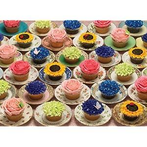 Cobblehill 80057 1000 Pc Cupcakes E Piattini Puzzle Vari