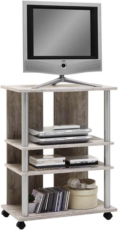 FMD Moebel 205-007 Variant 7-Mueble para televisor con Ruedas con ...
