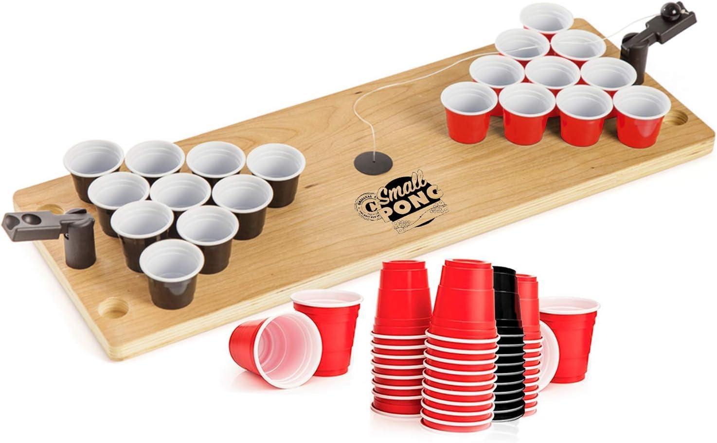60 Blue /& 60 Red Qualit/é Premium Pack Beer Pong Officiel Team Red /& Blue 120 Cups 1 Table Beer Pong Table Officielle OriginalCup/® Jeu /à Boire + 6 Balles Ap/éro Kit Complet