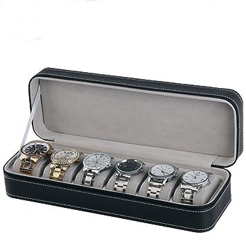 Amazon.com: Homeater Caja de reloj portátil de viaje con ...