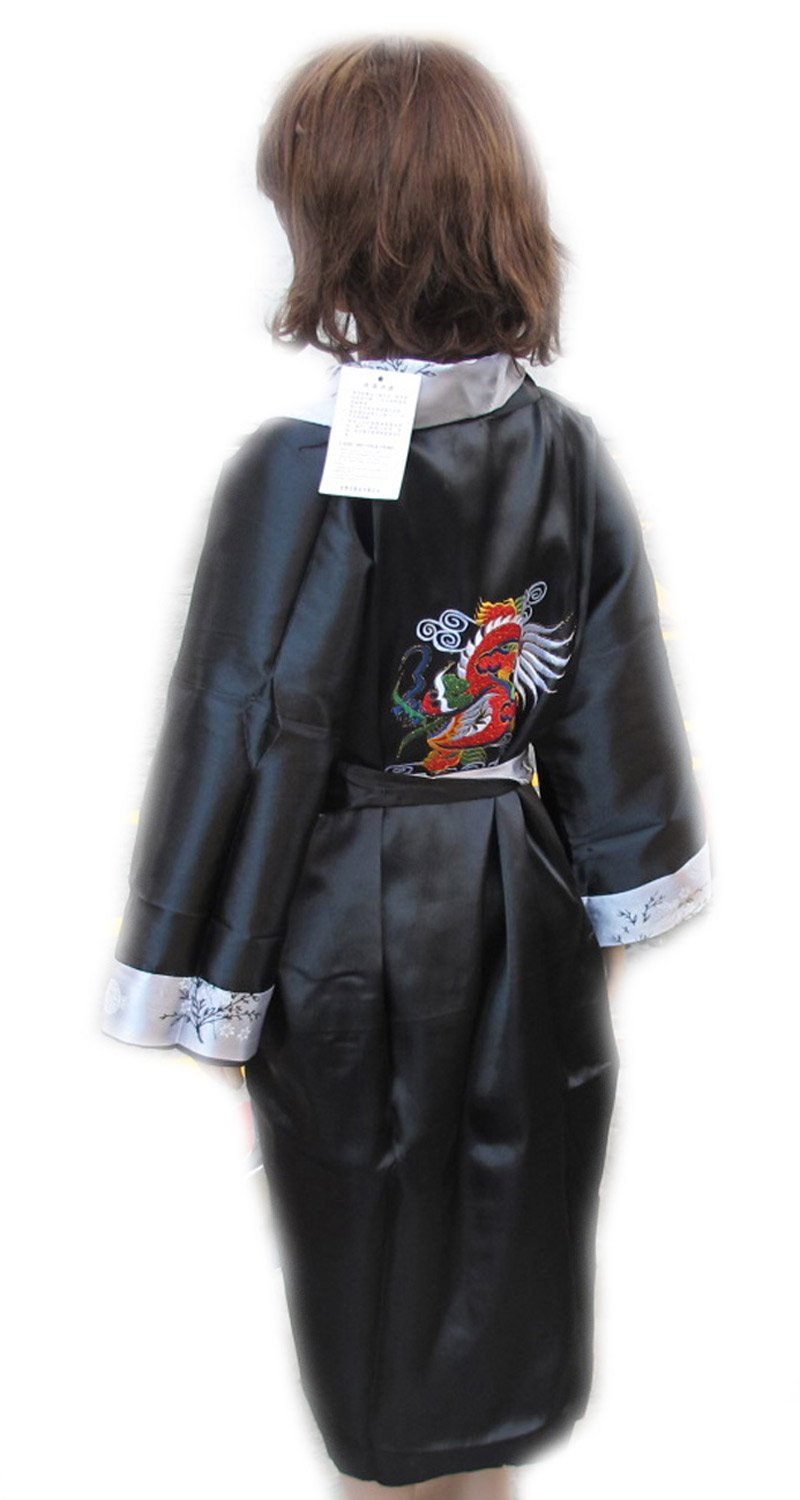 CHILDREN BATH ROBE JAPANESE KIMONO SATIN AND SILK WITH COMPLIMENTARY by eThaiComplex (Image #6)