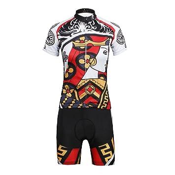 hebike color Poker Club de la mujer ciclismo Jersey ...