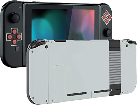 eXtremeRate Carcasa para Nintendo Switch,Funda Completa para Mando Controlador Consola Joy-con de Nintendo Switch Shell de Bricolaje reemplazable con Botón Completo (Estilo clásico de NES): Amazon.es: Electrónica