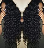 Jaycee Hair Unprocessed Brazilian Curly Wave Human Hair 100% Remy Hair Weave 3Bundles Natural Black 20″ 22″ 24″ Inch100g(+/-5g)/piece For Sale